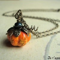 PUMPKIN PASTIES  Harry Potter Inspired Necklace by jetaimeboutique