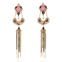Ingenue Crystal Petal Earrings | Moda Operandi