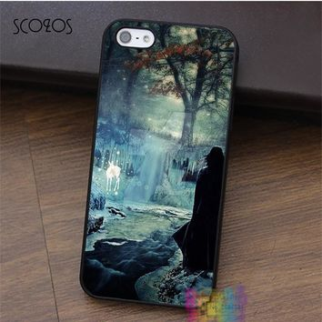 SCOZOS Harry Potter Deathly Hollow Snape phone case for iphone X 4 4s 5 5s 5c SE 6 6s 6 plus 6s plus 7 7 plus 8 8 plus