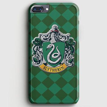 Hoghwart School  Slytherin iPhone 7 Plus Case
