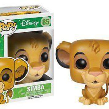 Funko Pop Disney: The Lion King - Simba Vinyl Figure