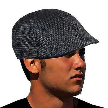 Classic Cabbie Hat Great Gatsby Hat Roaring Twenties Great Gatsby Hat L/XL Fit