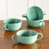 Bard Handled Bowls, Set Of 4                       | Robert Redford's Sundance Catalog