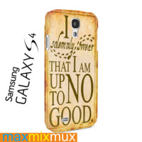 I Somemnly Swear Harry Potter Samsung Galaxy Series Full Wrap Cases