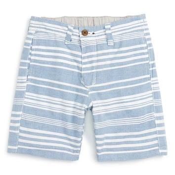 Reversible Madras Plaid Shorts (Toddler Boys, Little Boys & Big Boys)