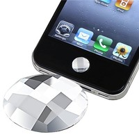 eforCity Home Button Sticker for iPhone/iPad/iPod touch (Clear Diamond