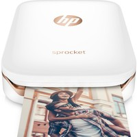 HP Sprocket Mobile Photo Printer - White