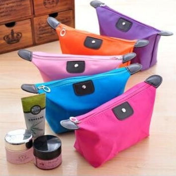 Candy Color Women Cosmetic Bags Phone Case Travel Bag Make-up Organizer Multipurpose Handbag Purse Clutch Bags = 1958595780