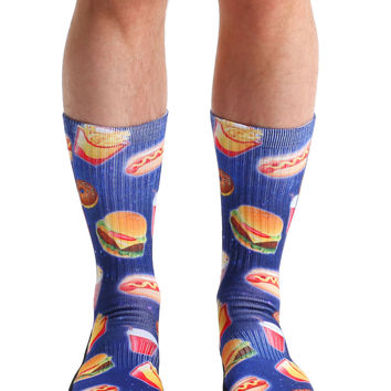 Fast Food Galaxy Sport Socks