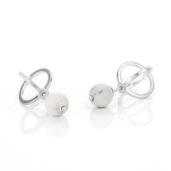 Pico Design Double Sphere Earrings