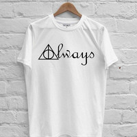 Harry Potter Always Deathly Hallows Symbols T-shirt Men, Women Youth and Toddler