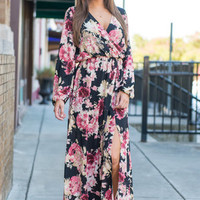 See You In The Evening Maxi Dress, Black