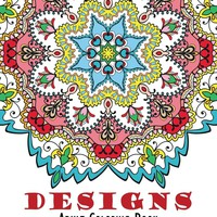 Mandala Boho Designs Adult Coloring Book