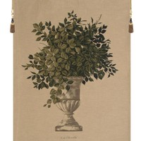 Greenery Beige European Tapestry