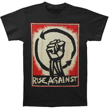 Rise Against Men's  Fist Up T-shirt Black