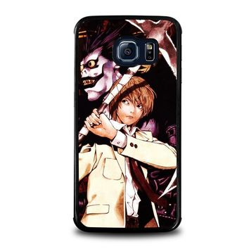 DEATH NOTE RYUK AND LIGHT Samsung Galaxy S6 Edge Case Cover