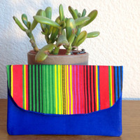 Bright and Colorful Striped Wallet
