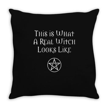 this is what a real witch looks like! Throw Pillow