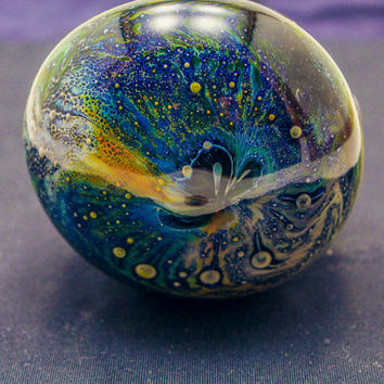 Earth Space Glass Pipe