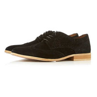 Black Suede Brogues - View All Shoes - Shoes and Accessories