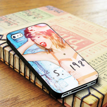 Taylor Swift Poster 1989 Cover Album Taylor Swift Singer iPhone 4 | iPhone 4S Case