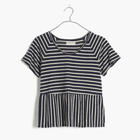 Swing Panel Tee in Stripe
