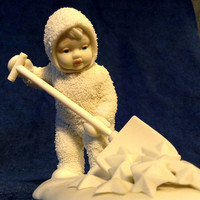 Dept 56 Snow Babies - So Much Work To Do - With Box and Insert - Excellent Condition -  Retired