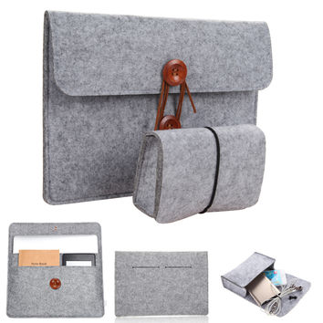 """Protective Pouch Bag Sleeve Cases Cover for iPad Macbook Pro/Air/Samsung Notebook 10''11''12''13""""14''15'' Best Price"""