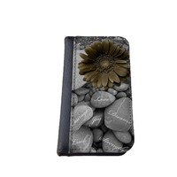 Floral iPhone 5C wallet case MADE IN USA - different designs flip case (Gerbera)
