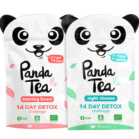 Panda Tea | Detox Challenge. Good for your body, good for the planet.