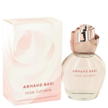 Armand Basi Rose Lumiere by Armand Basi Eau De Toilette Spray 3.3 oz