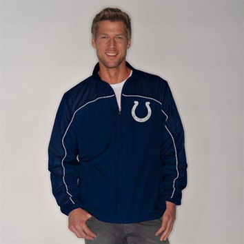G-III Indianapolis Colts Lightweight Jacket - http://www.shareasale.com/m-pr.cfm?merchantID=7124&userID=1042934&productID=520948394 / Indianapolis Colts