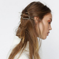 Fashion Geometry Triangular Hair Clips