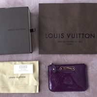 100% Authentic Brand New Louis Vuitton Vernis Coin Key Pouch - RRP $450
