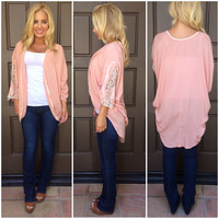 Time After Time Kimono - BLUSH PINK