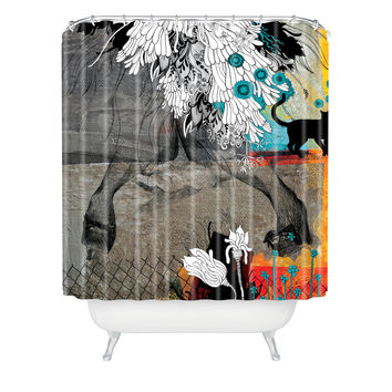 Iveta Abolina Stay Awhile Shower Curtain