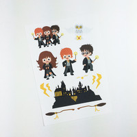ECLP | Harry Potter Add On | Hogwarts | 13 stickers