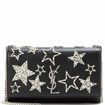 Medium Kate Monogram embellished leather shoulder bag