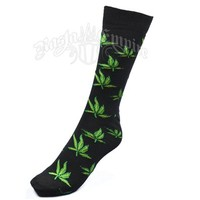Weed Leaves Socks @ RastaEmpire.com