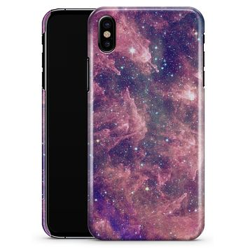 Vibrant Sparkly Pink Nebula - iPhone X Clipit Case