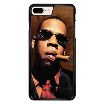 Jay-Z Cigar Glasses Tie Vest 01  iPhone 7 Plus Case