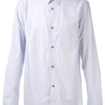A.p.c. Thin Stripe Print Shirt
