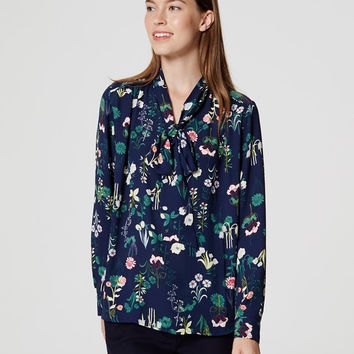 Valley Floral Bow Blouse