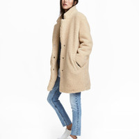 H&M Short Pile Coat $79.99