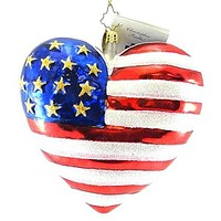 Christopher Radko September 11, 2001 Brave Heart Ornament