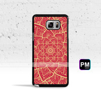 Gold Mandala Case Cover for Samsung Galaxy S3 S4 S5 S6 S7 Edge Plus Active Mini Note 3 4 5 7