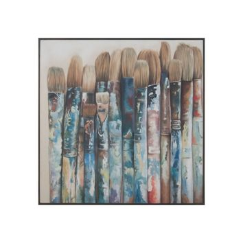 Filberts And Rounds Handpainted Art,Clean Antique Smoke
