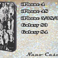 One Direction Niall Horan Collage case for iPhone 5C , 5S , 5 , iPhone 4S , iPhone 4 , Galaxy S4 , Galaxy S3 Handmade Peronalized Case