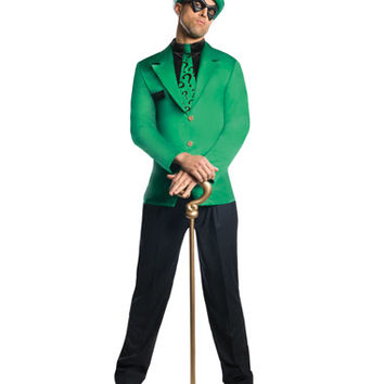 Batman Riddler Adult Mens Costume – Spirit Halloween
