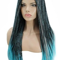 Angie Long Braided Straight Cosplay WIg